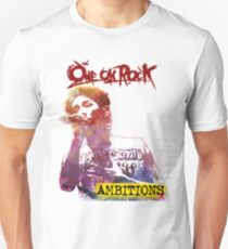 One Ok Rock Ambitions Album! Taka! WaterColor Unisex T-Shirt