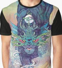 Spectral Cat Graphic T-Shirt