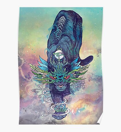 Spectral Cat Poster