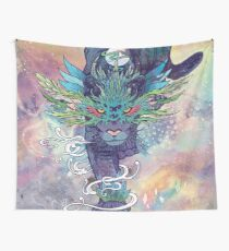 Spectral Cat Wall Tapestry