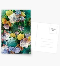 Succulent World Postcards