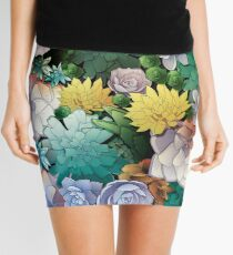 Succulent World Mini Skirt