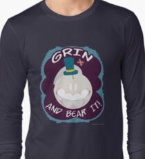 Grin And Bear It - Schnell design Long Sleeve T-Shirt
