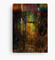 Its Late Canvas Print