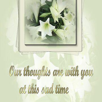 sympathy card by cynthiab