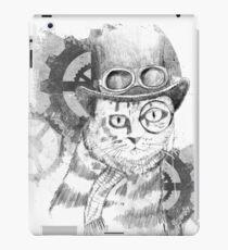 Steampunk Cat iPad Case/Skin