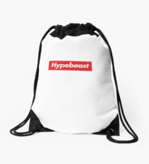 Hypebeast Supreme HD Sneakerhead Yeezy Colorway Logo Drawstring Bag