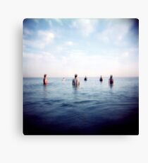 the guys out in sea Canvas Print