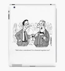 Toothless Financial Regulator iPad Case/Skin