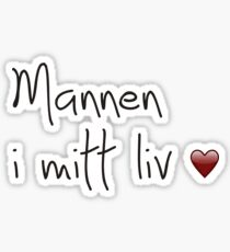 Isak and Even − Mannen i mitt liv. Sticker