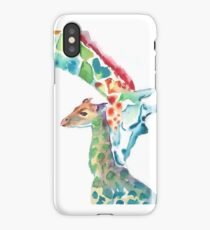 Giraffe Mommy and Baby iPhone Case/Skin