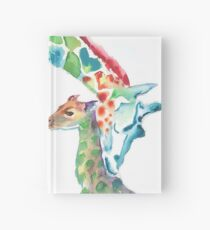 Giraffe Mama und Baby Notizbuch