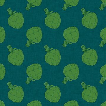 Whimsical Artichokes Pattern by TsipiLevin