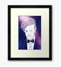 Space Doctor Framed Print