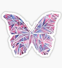 Geometric Butterfly Sticker