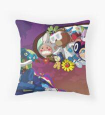 The Creation Of Yeezus Throw Pillow