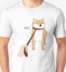 Shiba Inu No Unisex T-Shirt