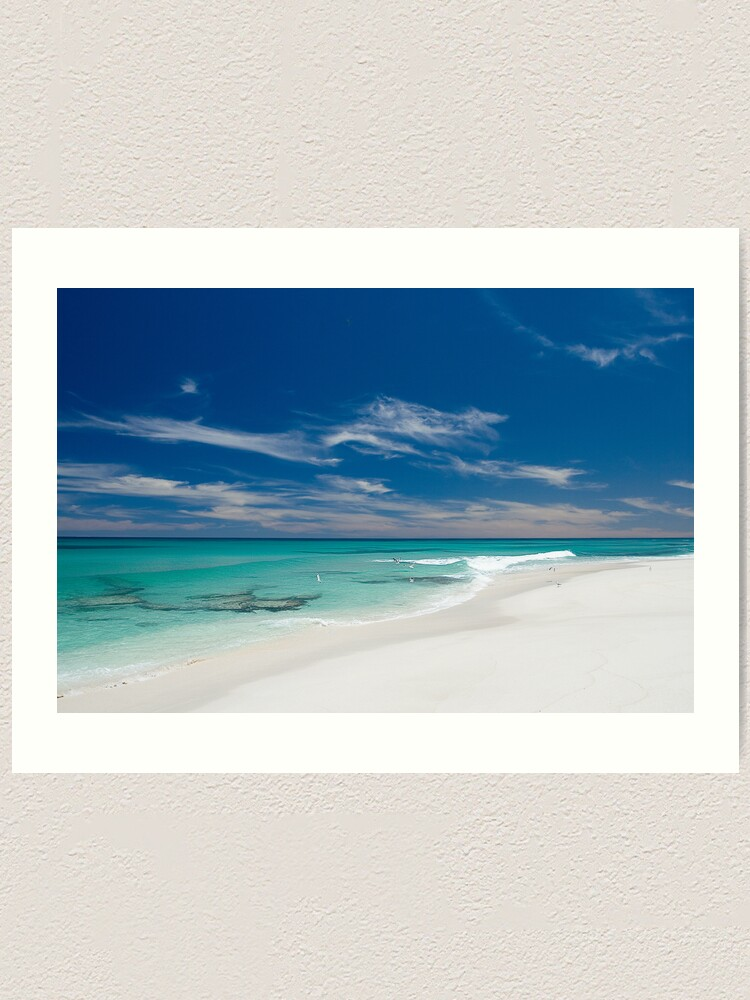Alternate view of Paradise South Oz Style. Art Print