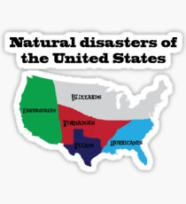 Natural disasters of the United States, Texans Sticker