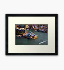 Sydney Opera House Framed Print