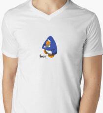Club Penguin BOI Men's V-Neck T-Shirt