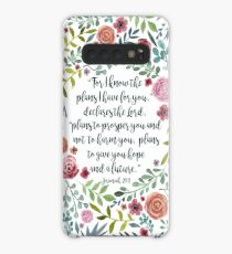 Jeremiah 29:11 Case/Skin for Samsung Galaxy