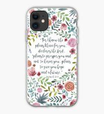 Always Pray Luke Bible Verse Christian iphone case