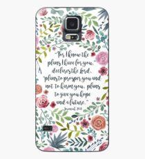 Jeremia 29:11 Hülle & Klebefolie für Samsung Galaxy