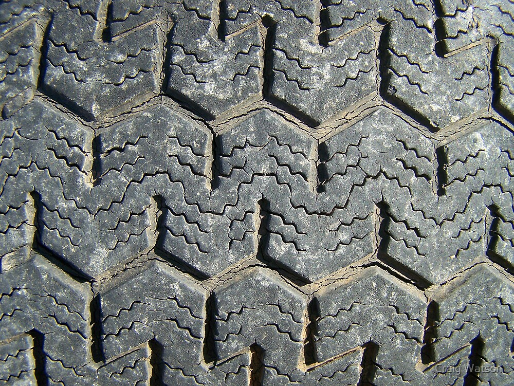 This Tired Tyre Has Retired! by Craig Watson