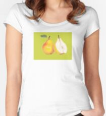 Pear Women's Fitted Scoop T-Shirt