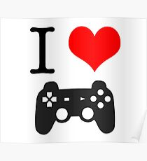 I Heart Gaming  Poster