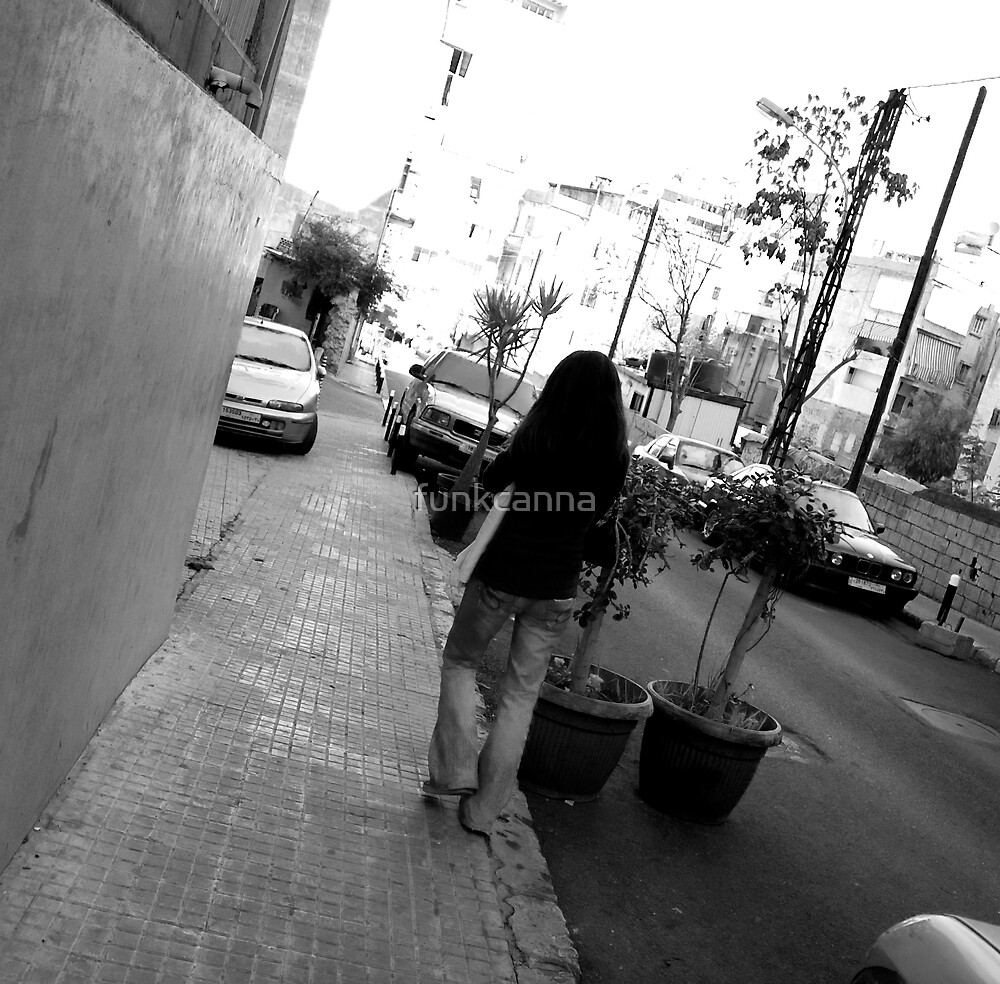 Lost in Beirut by funkcanna