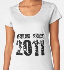 Legend since 2011 Women's Premium T-Shirt