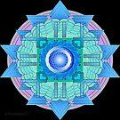 Throat Chakra Mandala - Visuddha by mimulux