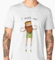 I work out Men's Premium T-Shirt