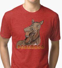 Powerful Horse Camiseta de tejido mixto