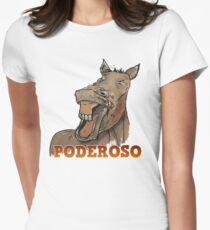 Powerful Horse Camiseta entallada para mujer