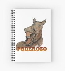 Powerful Horse Cuaderno de espiral