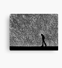 Caught In The Rain Canvas Print