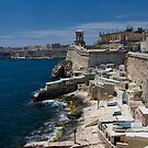 Small Harbour near St. Elmo Fort, Valletta by Kasia-D
