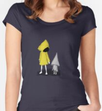 Six Women's Fitted Scoop T-Shirt