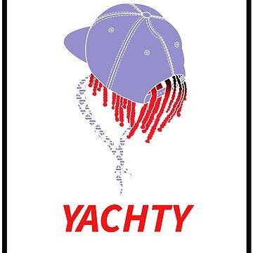 Yachty Mural  by GlasgowMerch