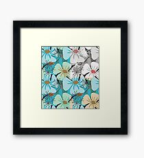 Poppy flowers Framed Print