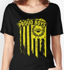 Proud Boys Women's Relaxed Fit T-Shirt