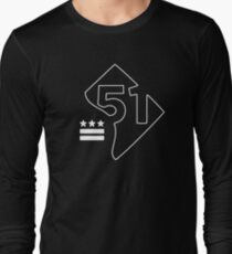 51st State (white) Long Sleeve T-Shirt