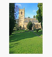St Marys, Chipping Norton Photographic Print