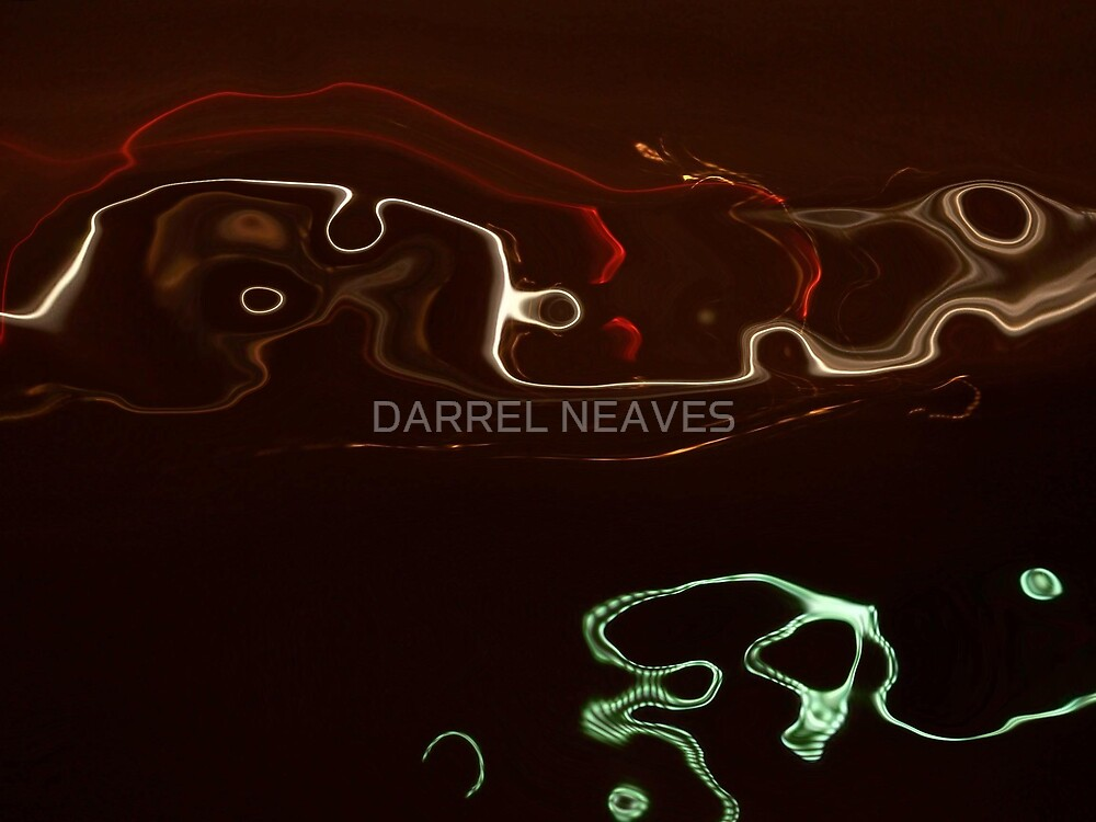 THE BEACH AT NIGHT by DARREL NEAVES