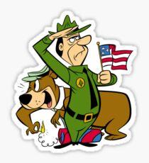 Yogi Bear 4th July, Indepence Day, America,Firework Sticker