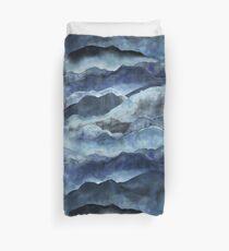 Shibori Mountains Duvet Cover