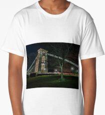 Night tree Long T-Shirt